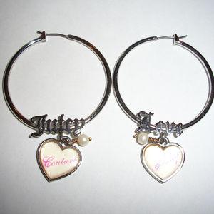 Juicy Couture Juicy Love Hoop Earrings